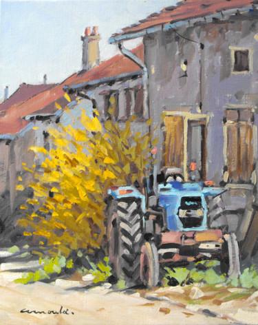 Rue du Paquis 2 ( huile sur toile 41 x 33)