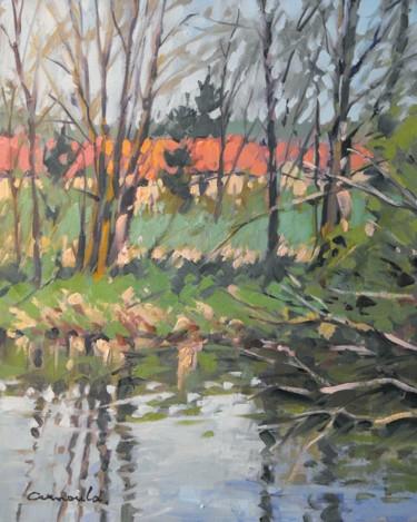 Derrière Azerailles (huile sur toile 41 x 33)
