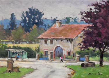 Ce matin à Mesnil Flin (huile sur toile 46 x 33)