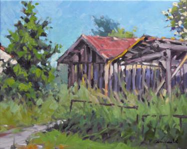 Ce matin à Fontenoy-la-joûte (huile sur toile 41 x 33)
