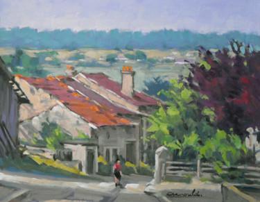 Ce matin à Nossoncourt (huile sur carton 41 x 33)