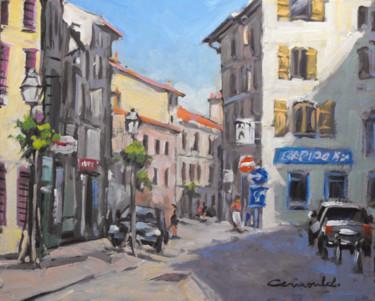 Ce matin à Lunéville (huile sur carton 41 x 33)