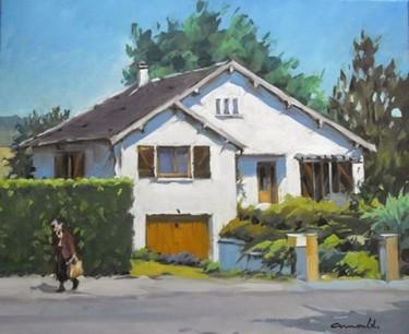 Peinture sur commande (huile sur toile 55 x 46)