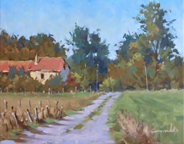 Entre Glonville et Baccarat (huile sur toile 41 x 33)