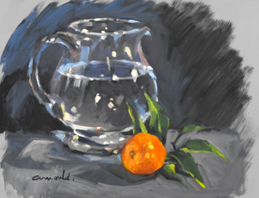 Daily Painting (huile sur bois 41 x 33)