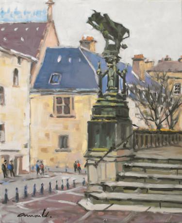 Quartier Saint Epvre  (huile sur toile 46x 38)