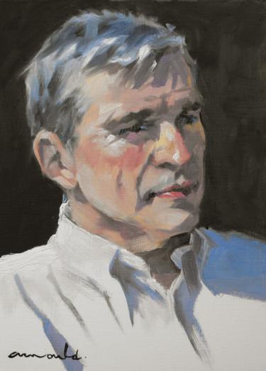 Jean Michel (huile sur papier 33 x 24)
