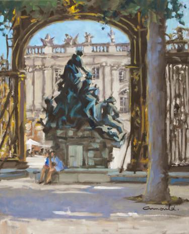 Contre jour sur la place Stanislas à Nancy