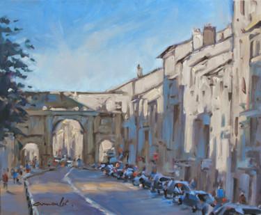 Porte Stanislas Nancy (huile sur toile 46 x 38)