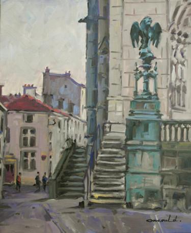 Place Saint Epvre par temps couvert