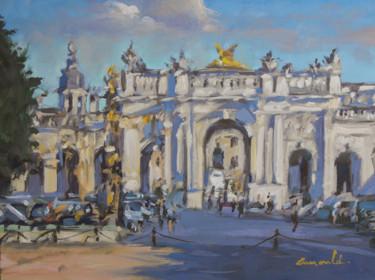 Porte Héré place de la Carrière