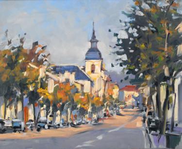 Avenue de Strasbourg (huile sur toile 41 x 33)