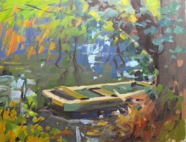 Barque à Méréville