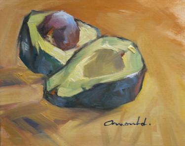 Avocats (huile sur papier 24 x 19)