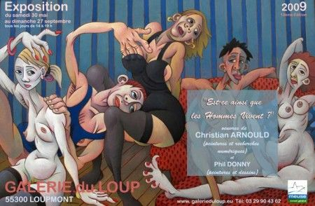 Exposition GALERIE DU LOUP (Meuse)