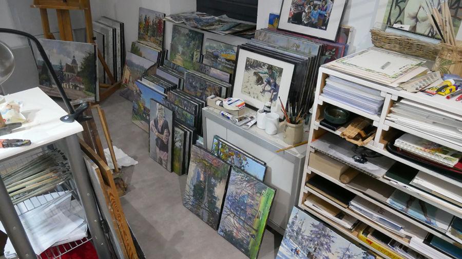 Atelier Galerie  à Flavigny sur Moselle