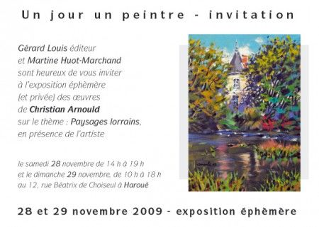Expo èphemere à Haroué