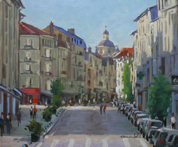 Christian Arnould - Rue des Dominicains à Nancy