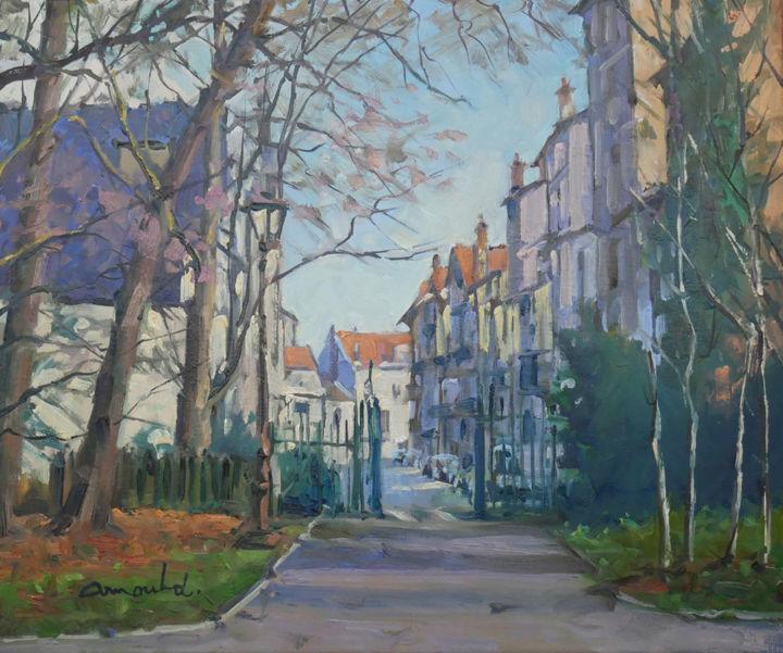 Christian Arnould - Vu du parc Sainte Marie à Nancy
