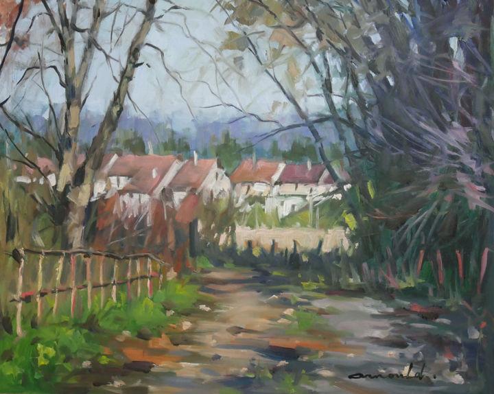 Christian Arnould - Chemin derrière Azerailles