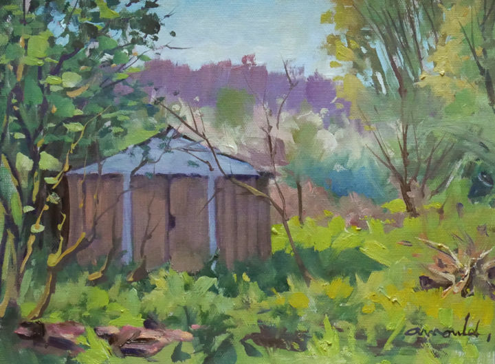 Christian Arnould - Notre jardin en friche 1