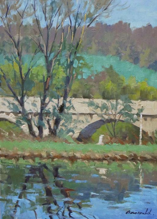 Christian Arnould - L'ancien pont de Flavigny