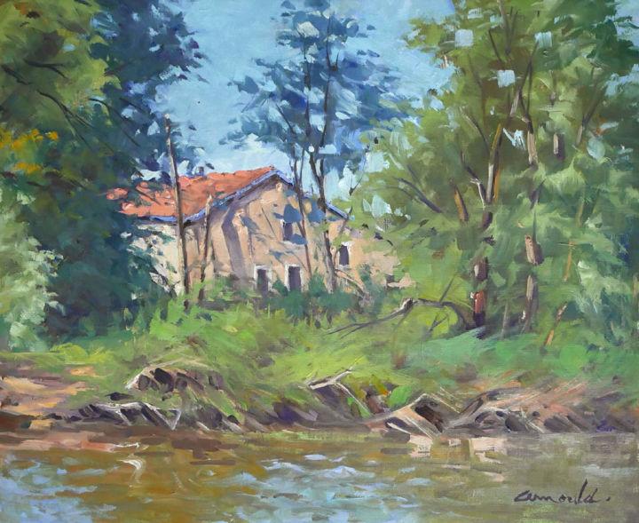 Christian Arnould - Notre maison au bord de la Moselle