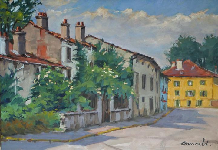Christian Arnould - La maison jaune à Neuviller