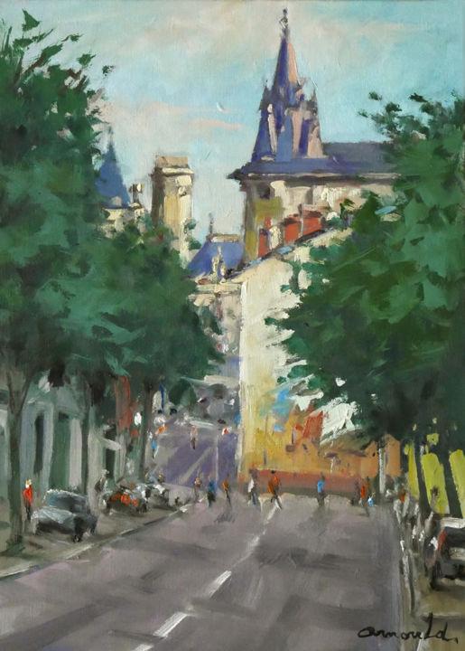 Christian Arnould - Rue du grand Rabbin Haguenauer à Nancy
