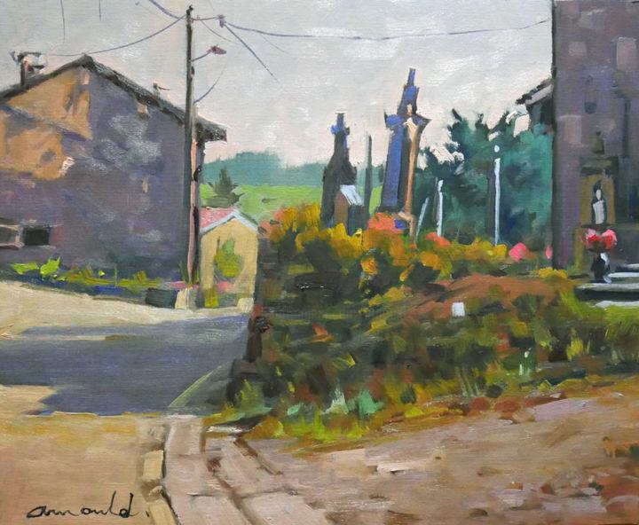 Christian Arnould - Petit cimetière à Puzieux