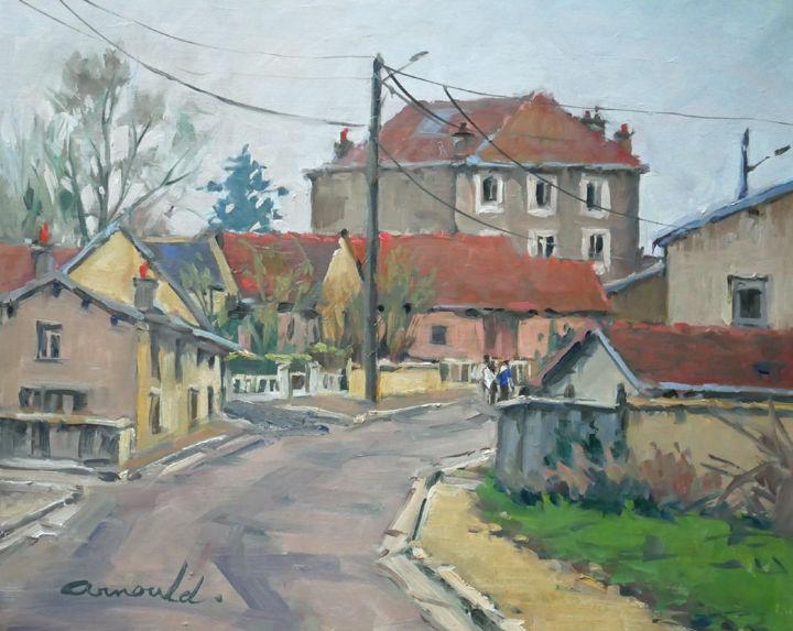 Christian Arnould - La maison de la pharmacie à Flavigny