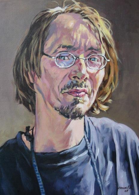 Christian Arnould - portrait Anatole