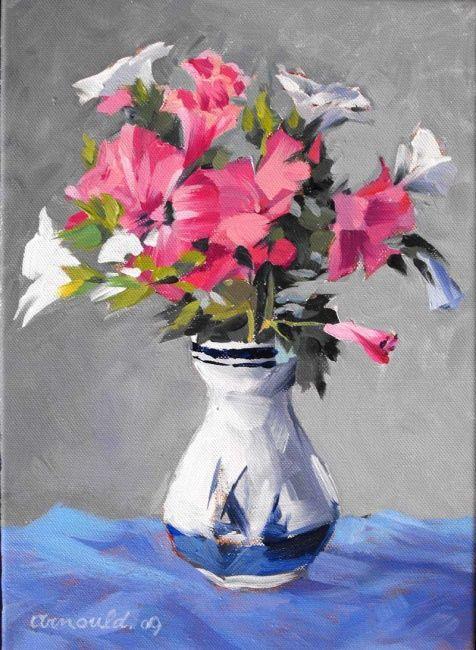 Christian Arnould - Fleurs du jardin