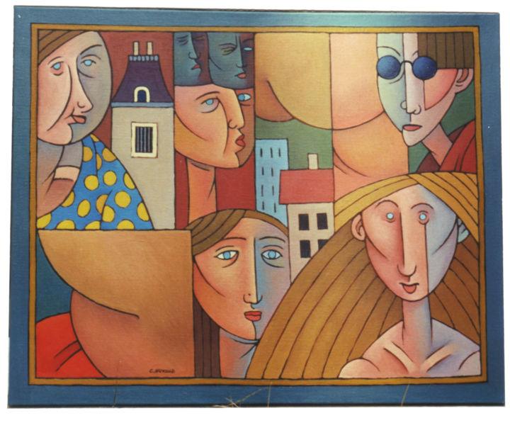 Christian Arnould - Huile sur toile (1989)