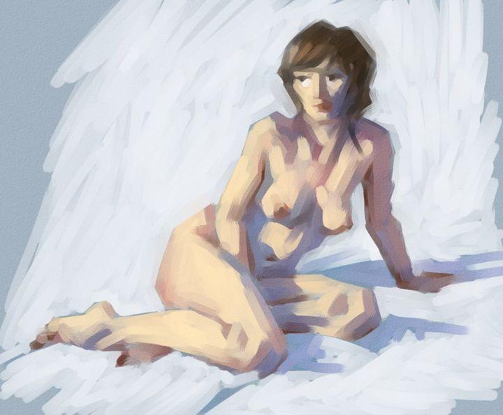Christian Arnould - Nu 2 - Paint Tool SAI -