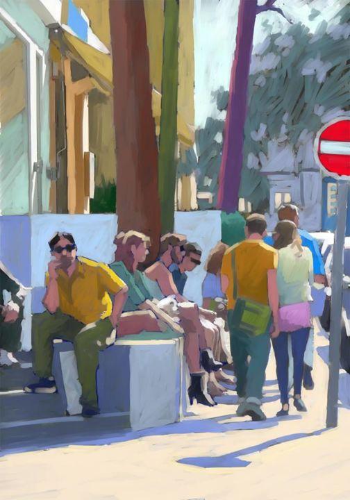 Christian Arnould - Essai peinture numérique Paint Tool SAI