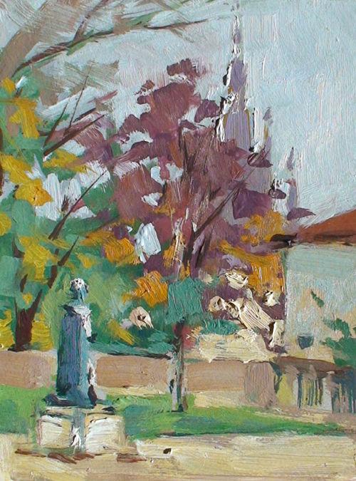 Christian Arnould - Square du Maréchal Lyautey