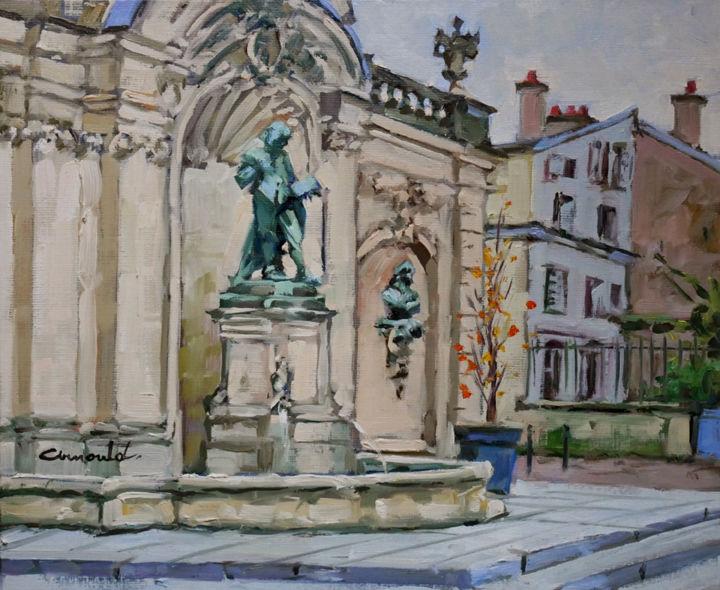 Christian Arnould - Place Vaudémont par temps gris