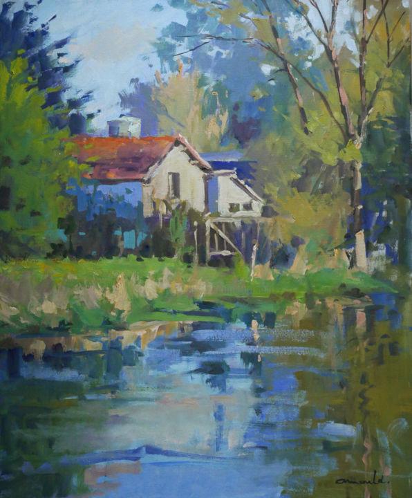 Christian Arnould - Démo paysage à la galerie Le 223
