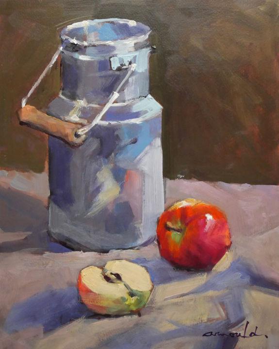"""Christian Arnould - Pot à lait. """"Démo"""" à la galerie Le 223"""