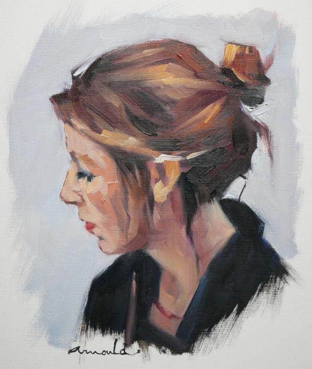 Christian Arnould - Anna la fille d'un ami peintre