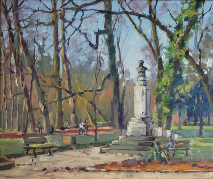 Christian Arnould - Parc Sainte Marie le matin