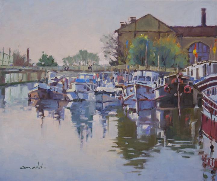 Christian Arnould - Port de plaisance à Nancy
