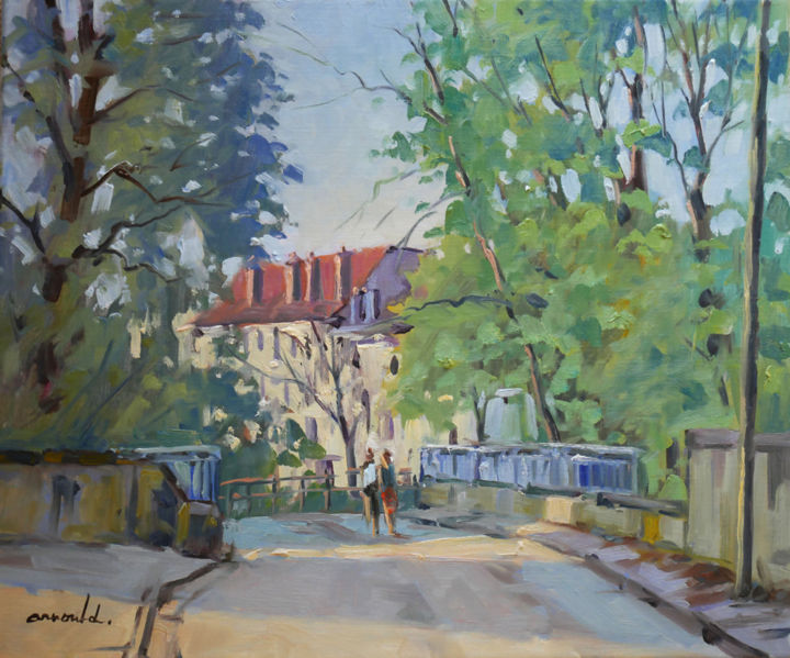 Christian Arnould - Rue du Colonel Paul Daum à Nancy